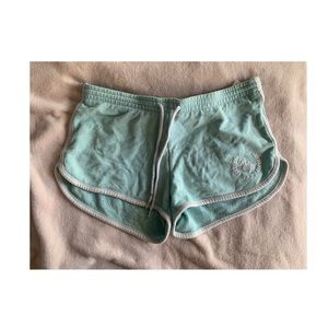 ABERCROMBIE AND FITCH mint green soft shorts!!!💚